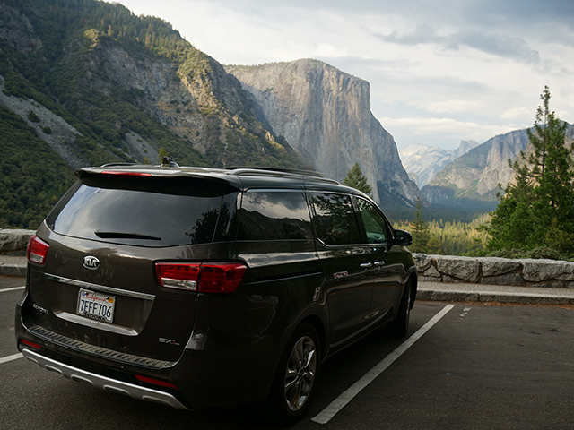 kia sedona summer road trip vehicle