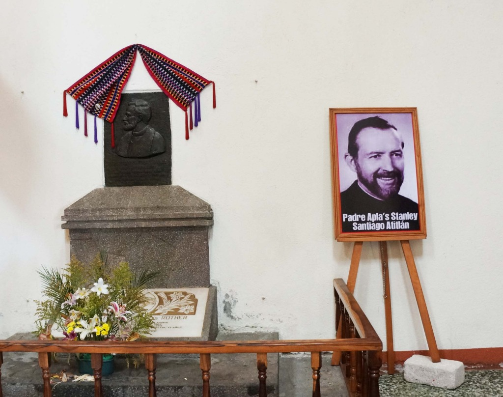 learn about father rother on a day tour of lake atitlan guatemala