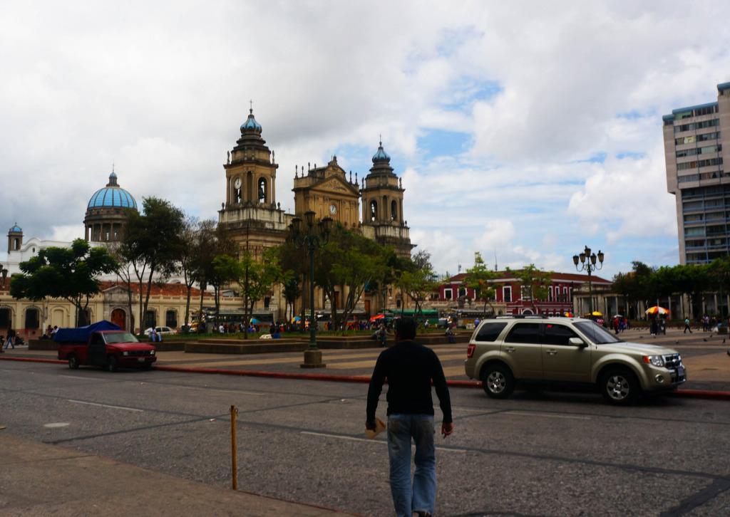 reasons to visit guatemala- Plaza Constitucional
