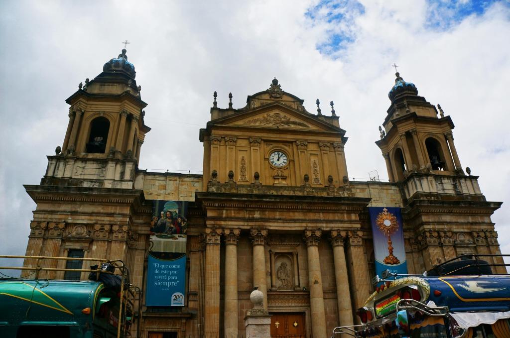 reasons to visit guatemala city- Plaza Constitucional church