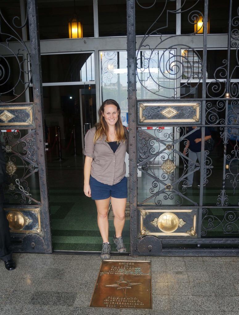 reasons to visit guatemala city- lauren at the national palace