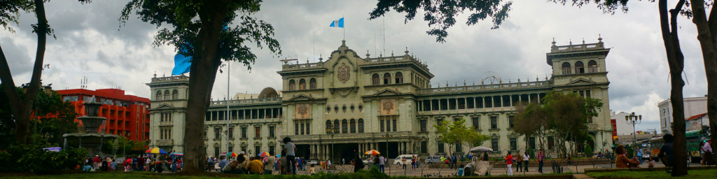 reasons to visit guatemala city- plaza constitutional landscape