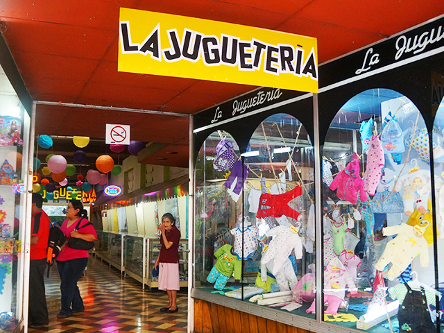 reasons to visit guatemala city- toy store