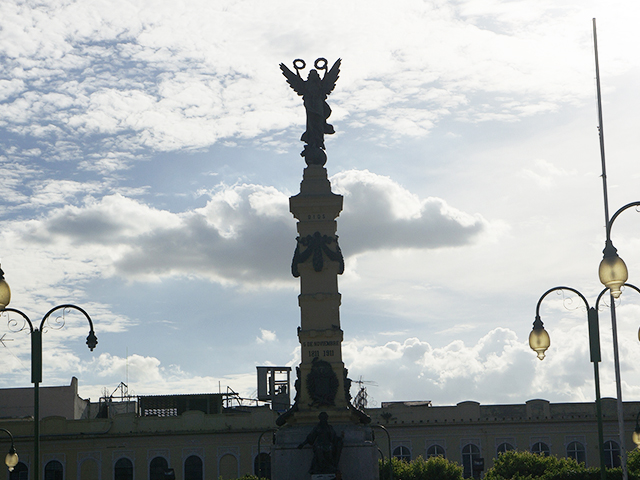 what to see in el salvador on a layover --plaza libertad