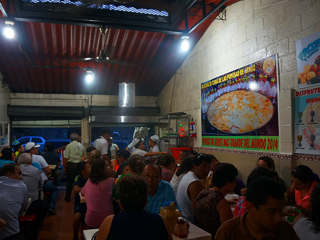 what to see in el salvador on a layover- pupusas in olocuilta