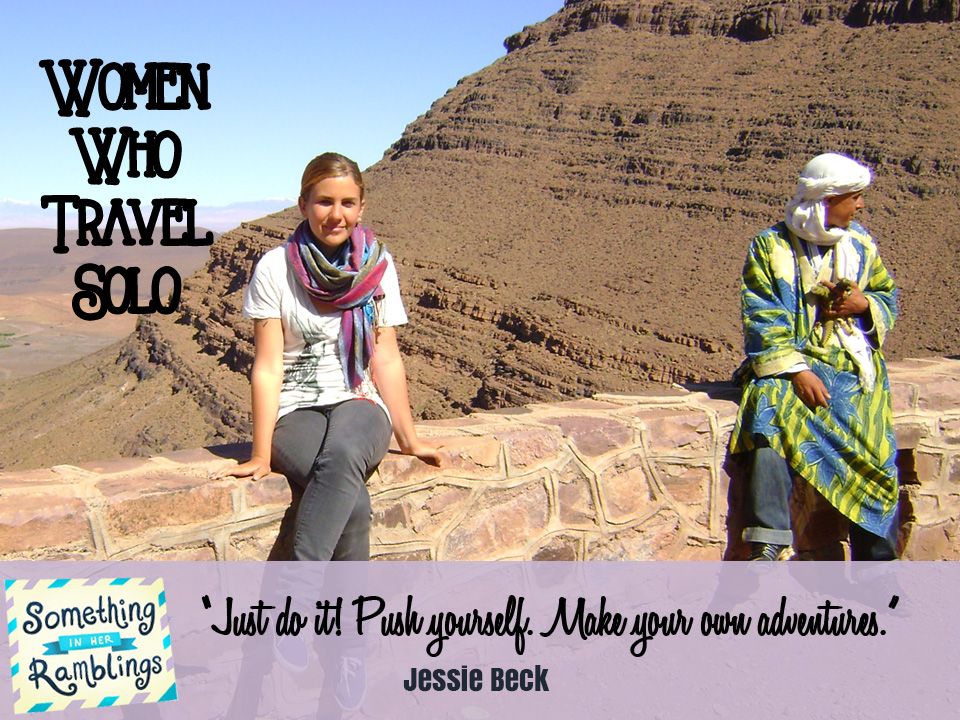 women who travel solo jessie beck