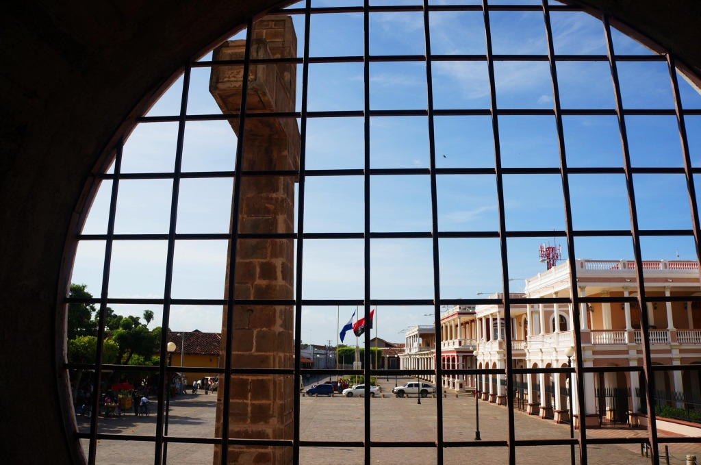 Granada Nicaragua in photos street view from cathedral