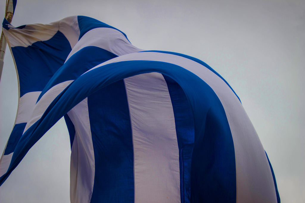 Solo Travel in Greece GreekFlag