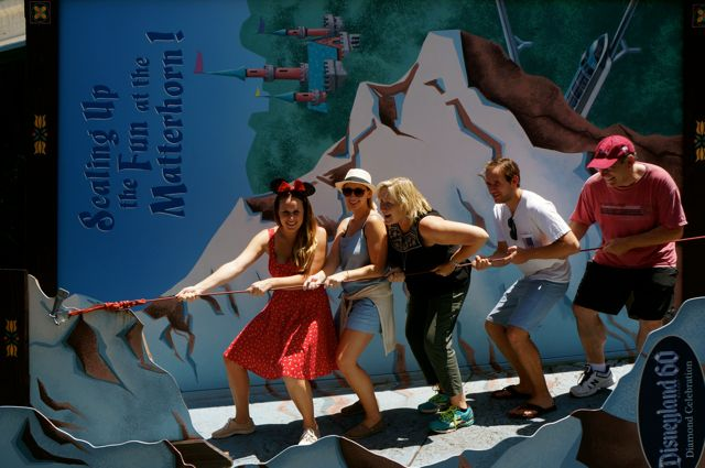 celebrate disneyland 60th anniversary in photos climb the matterhorn
