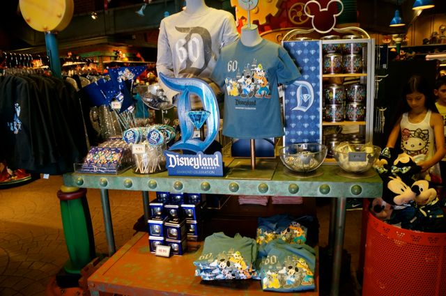 celebrate disneyland 60th anniversary in photos diamond celebration merchandise