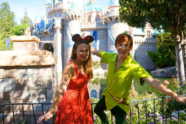 celebrate disneyland 60th anniversary in photos fly with peter pan