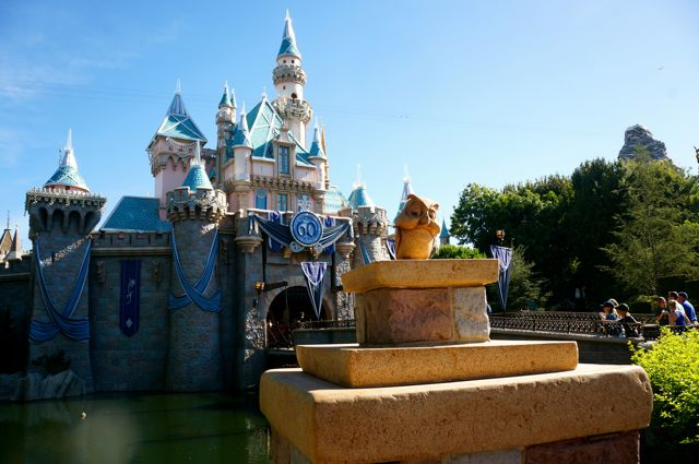 celebrating disneyland 60th anniversary in photos castle exterior