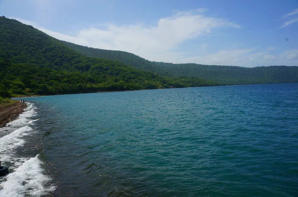 laguna de apyo granada photo
