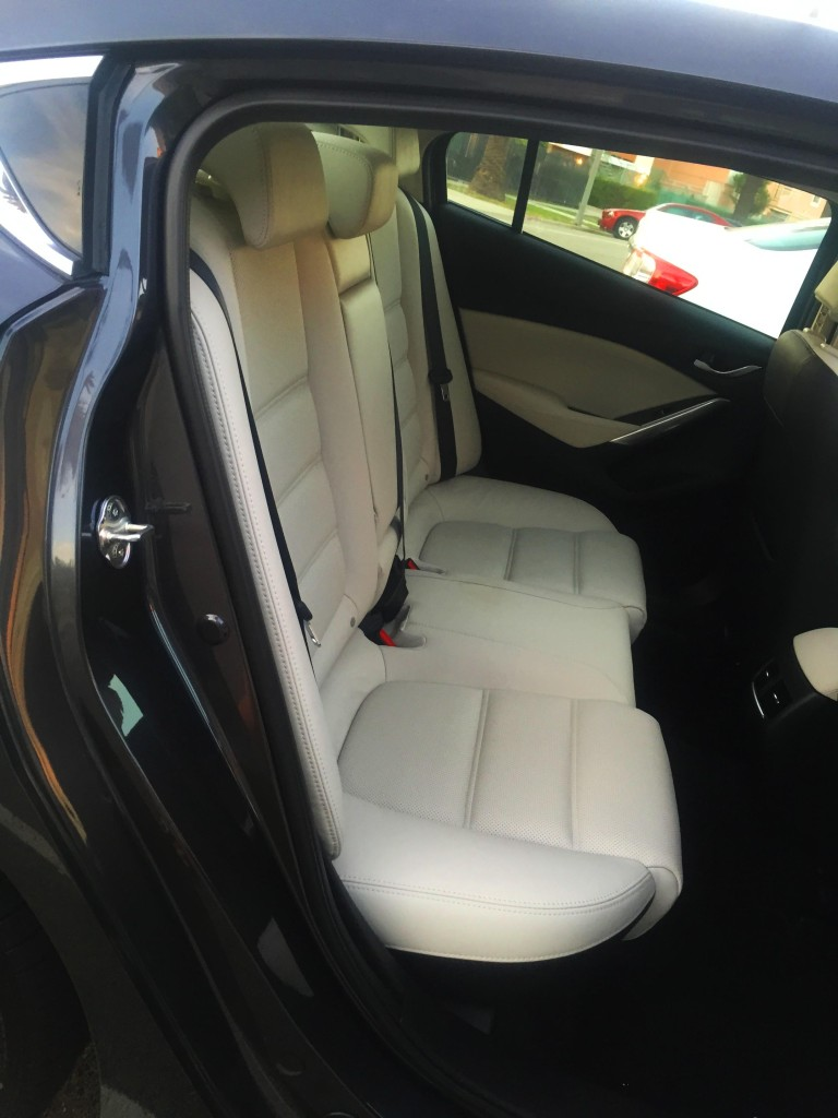 Mazda6 backseat