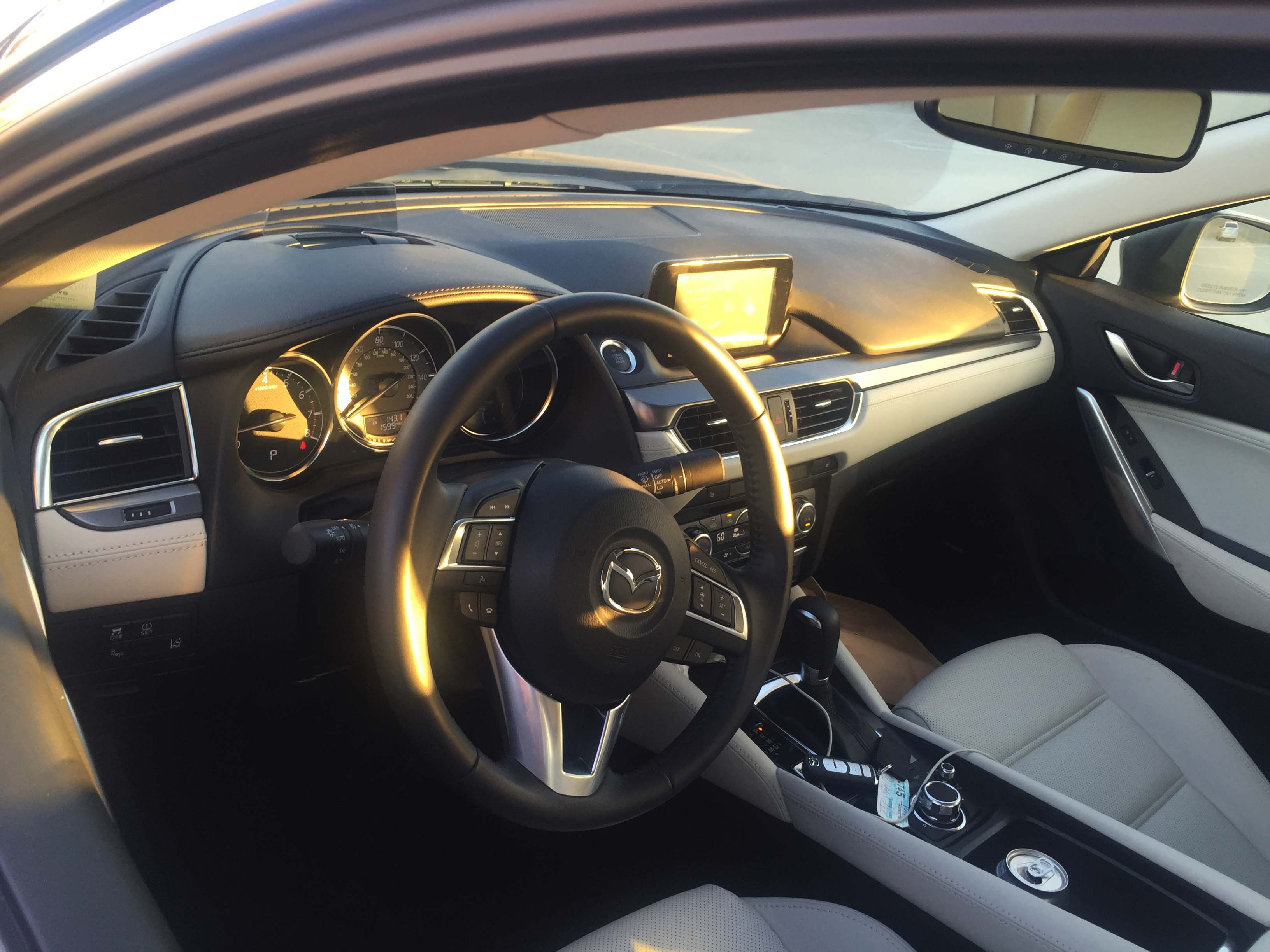 Mazda 6 2017 Interior Night