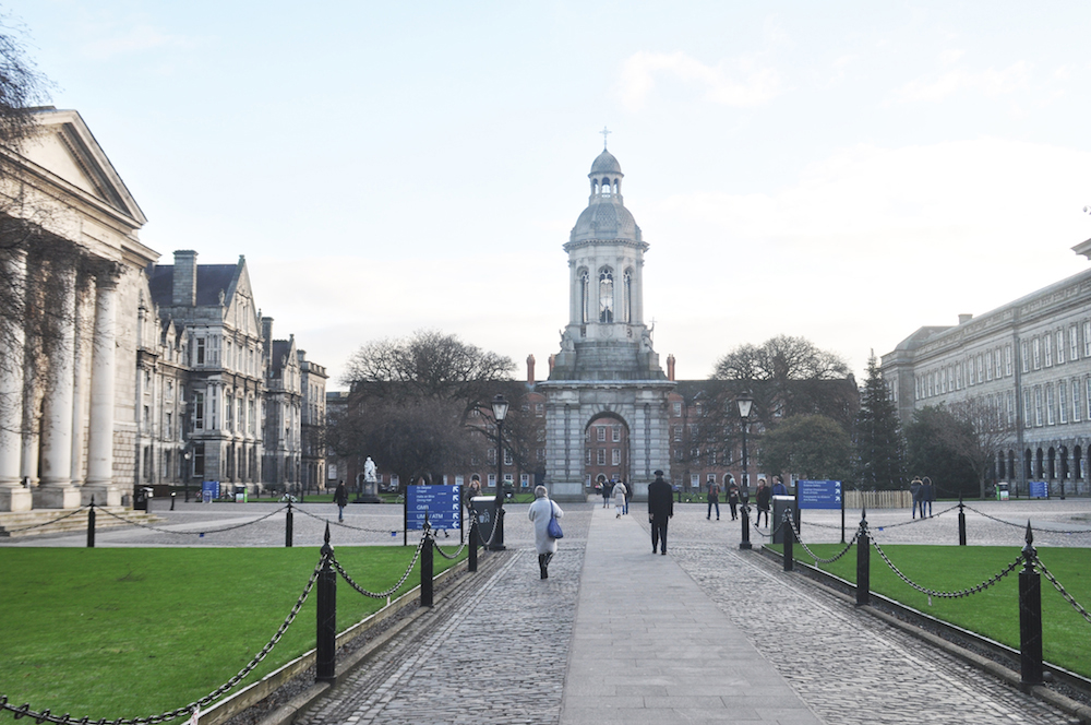 solo travel in dublin trinity college