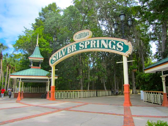 Orlando Day Trips Silver Springs State Park Entrance
