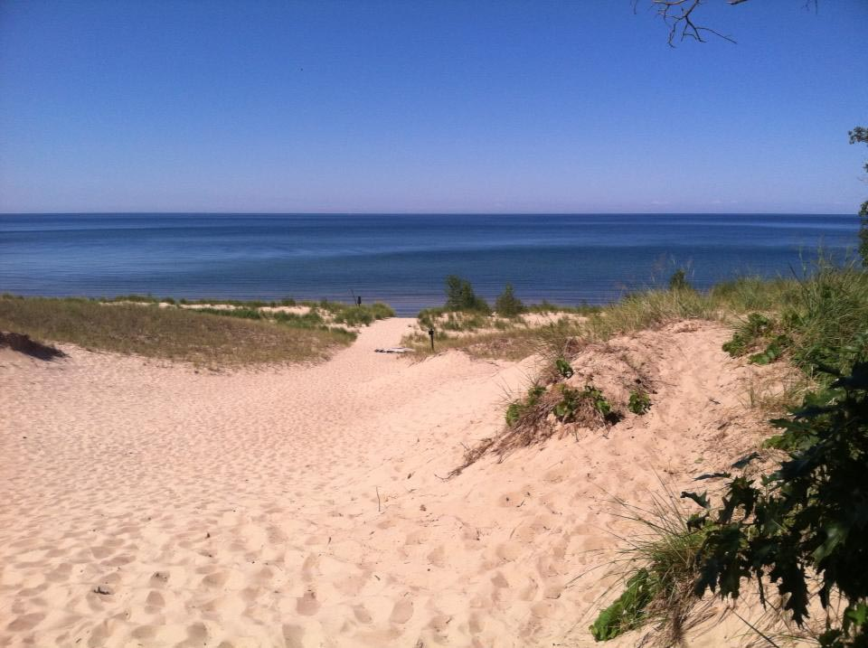 beaches of west michigan musketon dunes