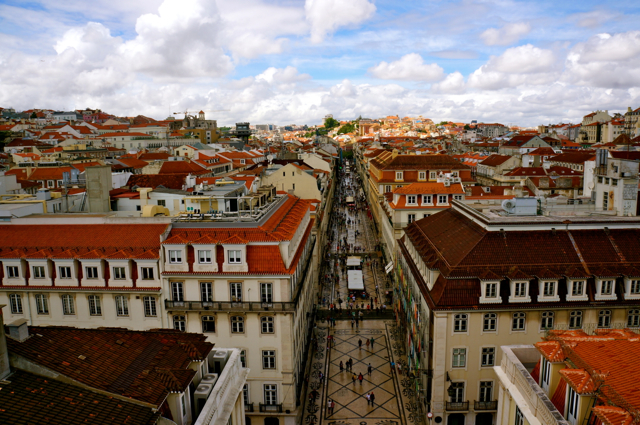 most walkable cities- lisbon