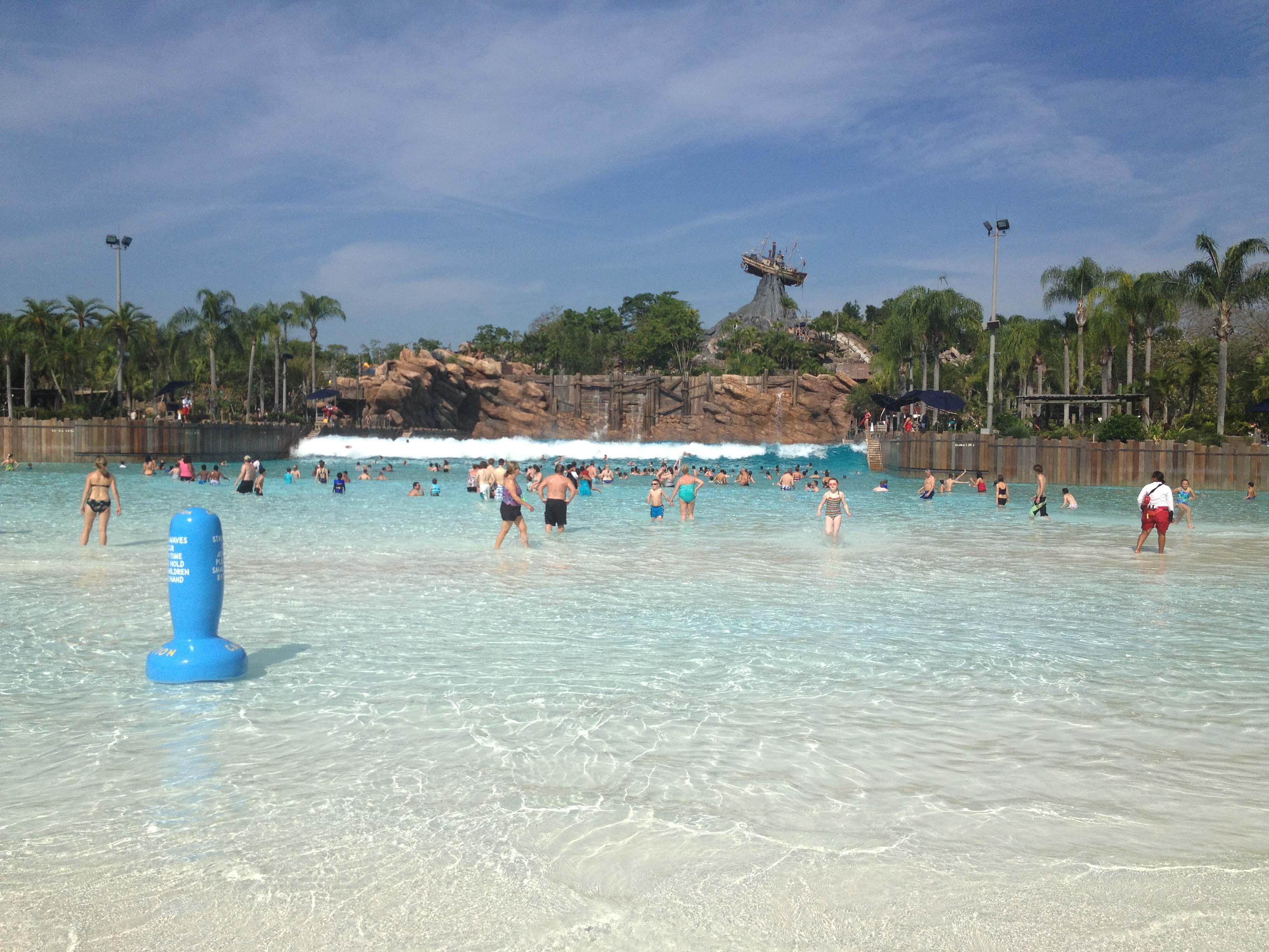 Best Beaches In Central Florida Disney S Typhoon Lagoon