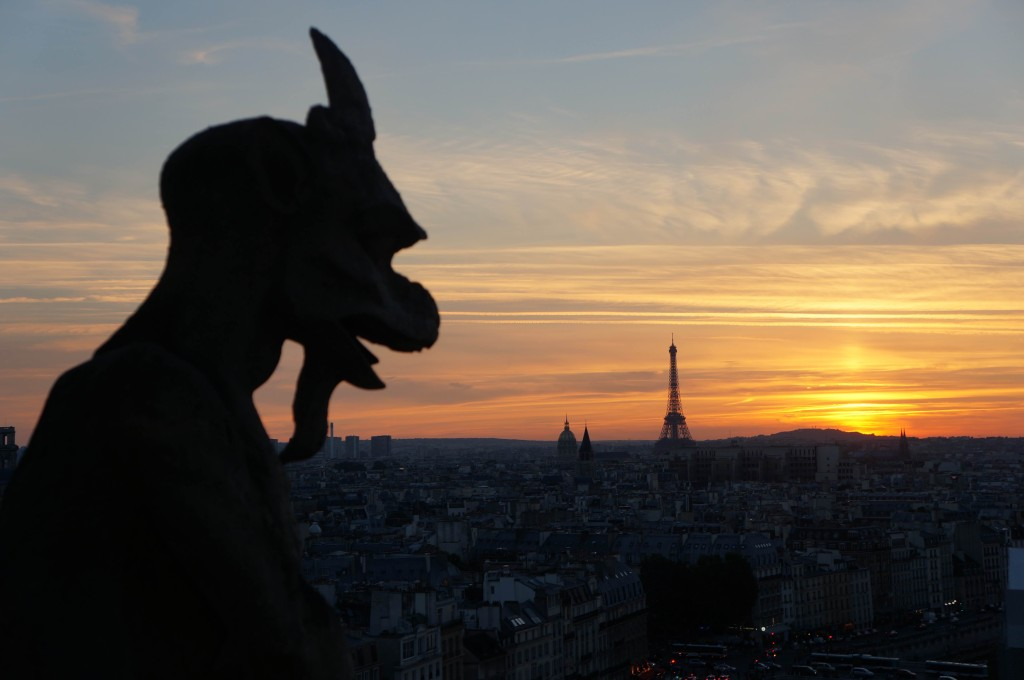reasons to love france paris sunset