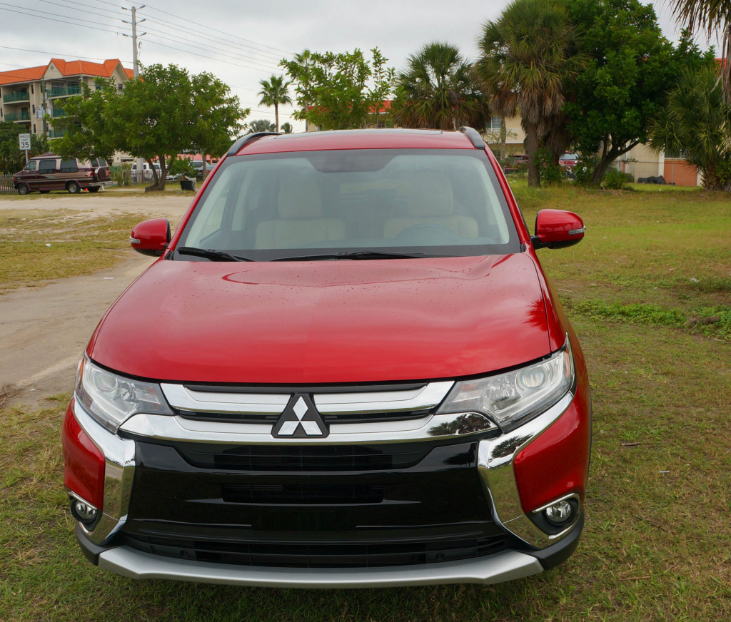 review mitsubishi outlander sel