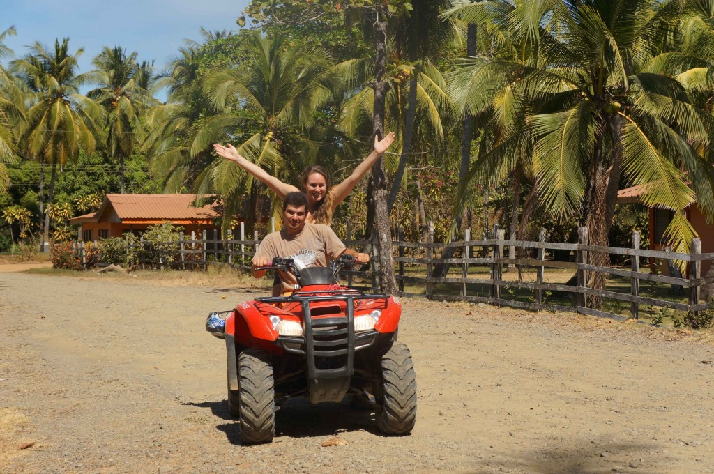 diego and lauren atv rental in santa teresa