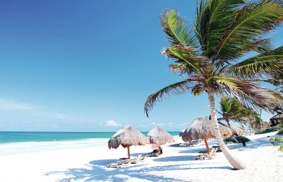 miles of beaches on a mexico holiday