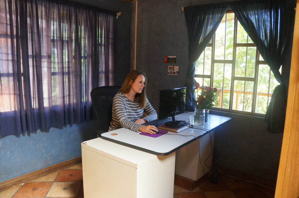 my life in costa rica as an expat- office
