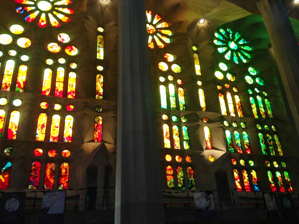 solo travel in spain the sagrada familia