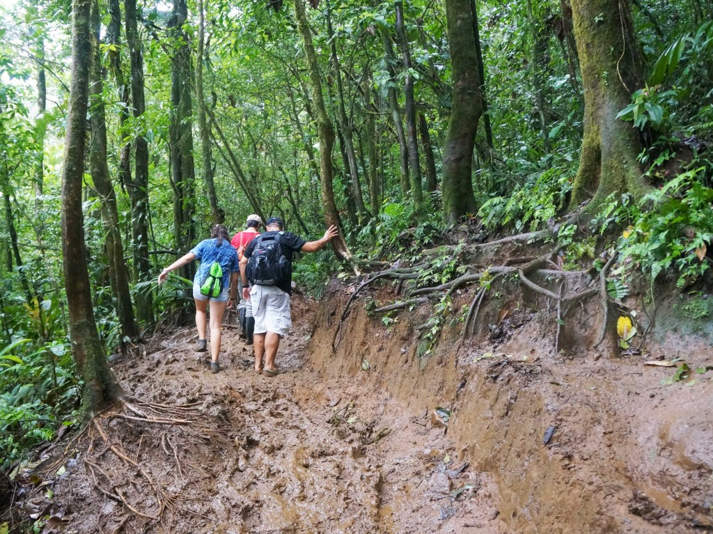 things to know before visiting rio celeste- the hike is long