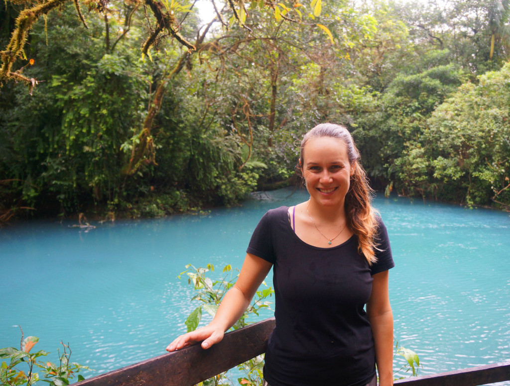 visit rio celeste in photos- something in her ramblings