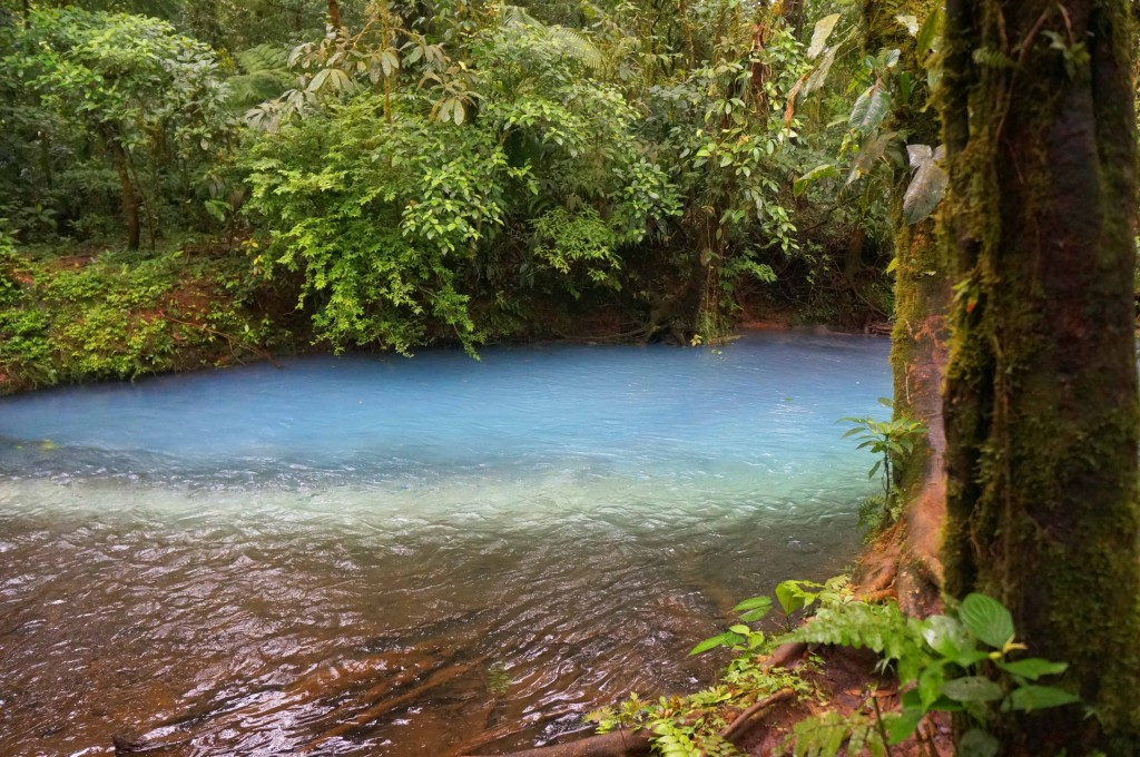 things to know before visiting rio celeste- Los Teñideros