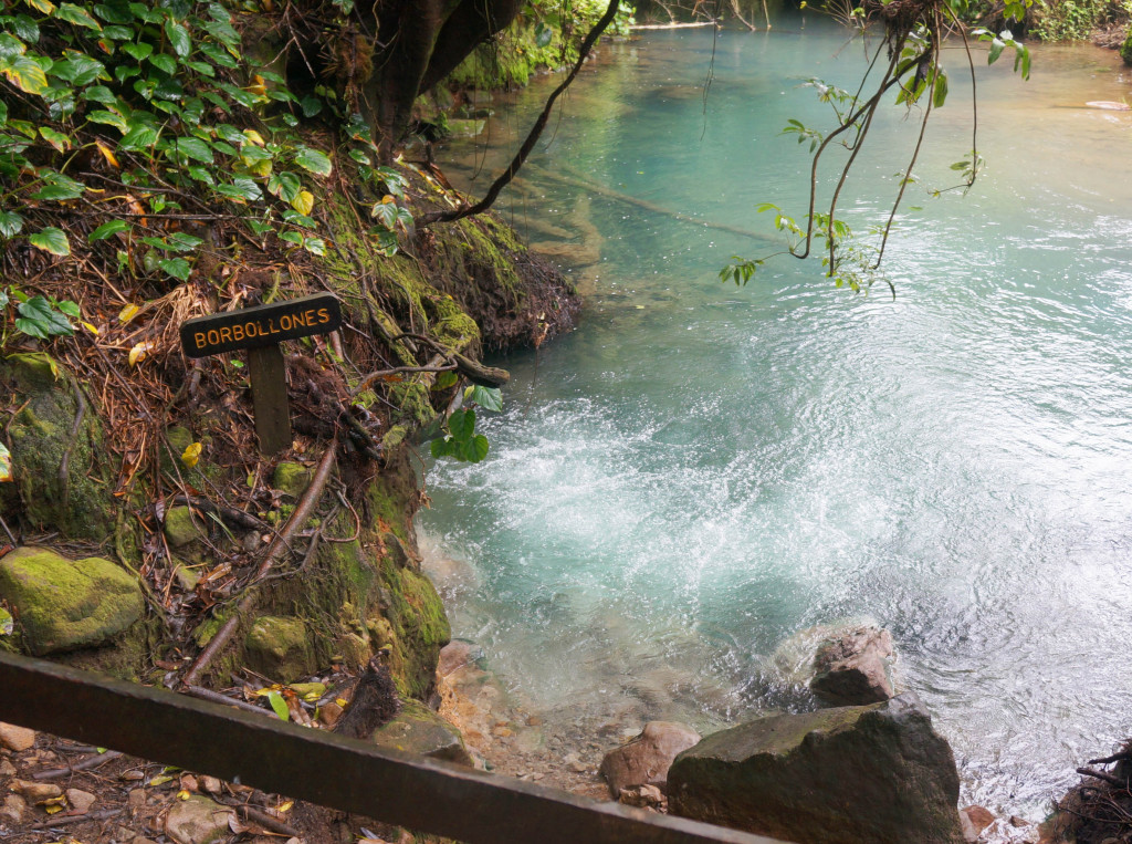 things to know before visiting rio celeste- borbollones