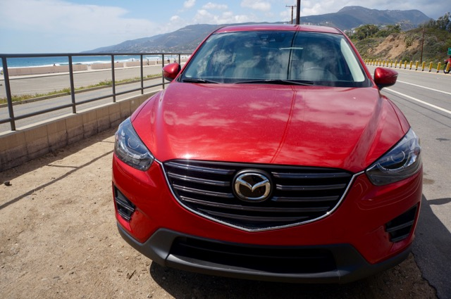 Mazda CX5 front