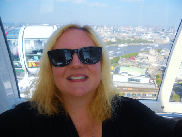 Tracy on the London Eye (1)