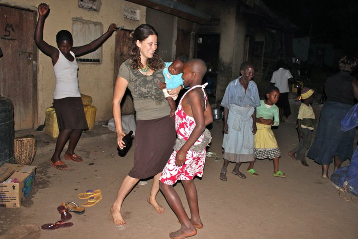 solo travel in uganda children