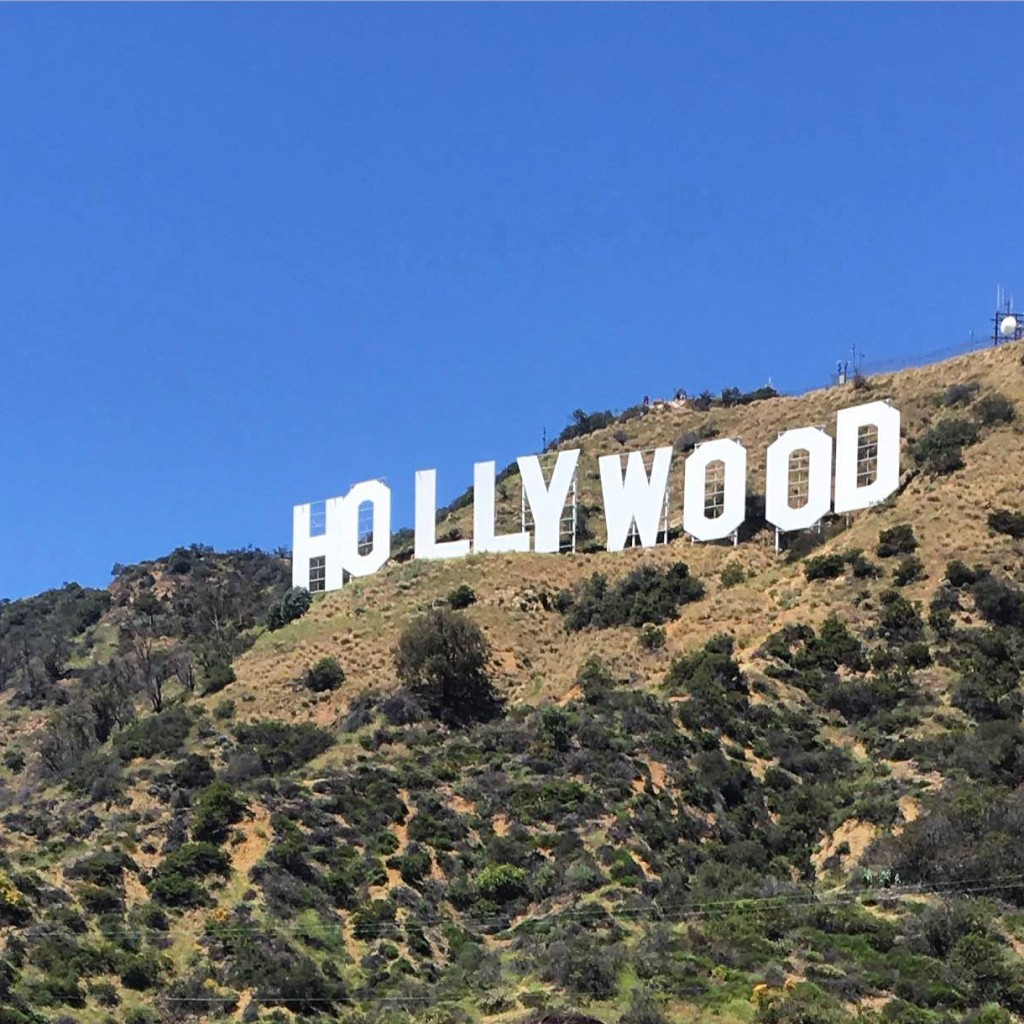 hollywood sign