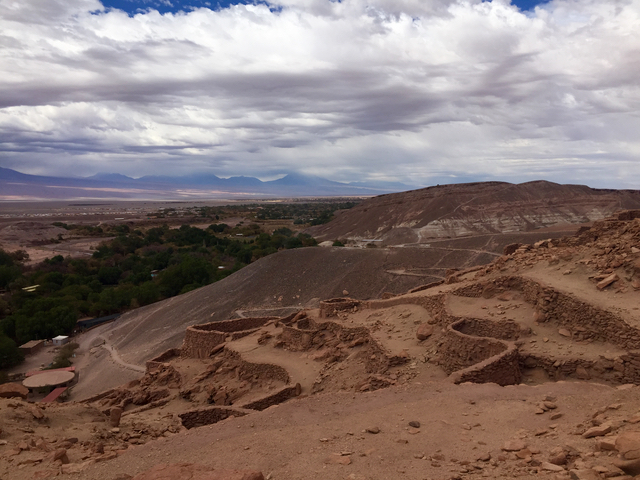 ruins of quitor atacama desert