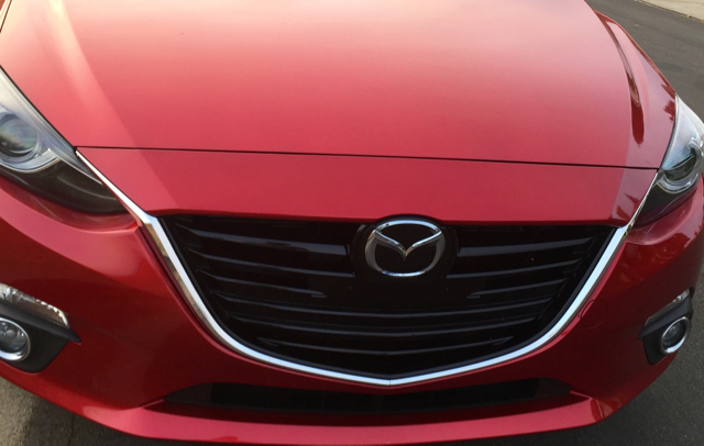 Mazda3 sleek red