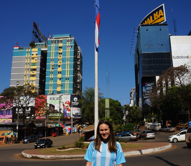 three countries in one day Paraguay