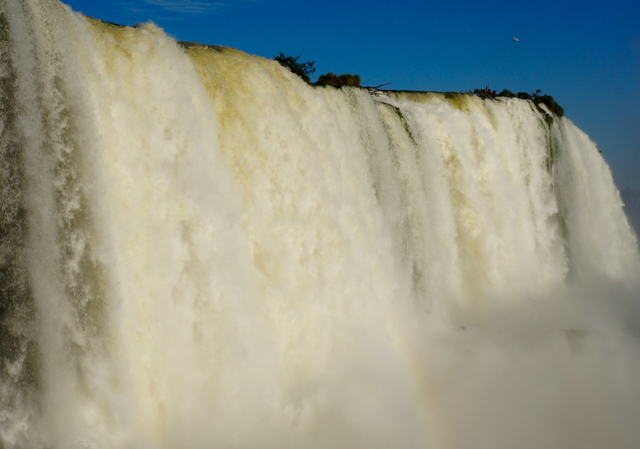 three countries in one day power of iguazu falls