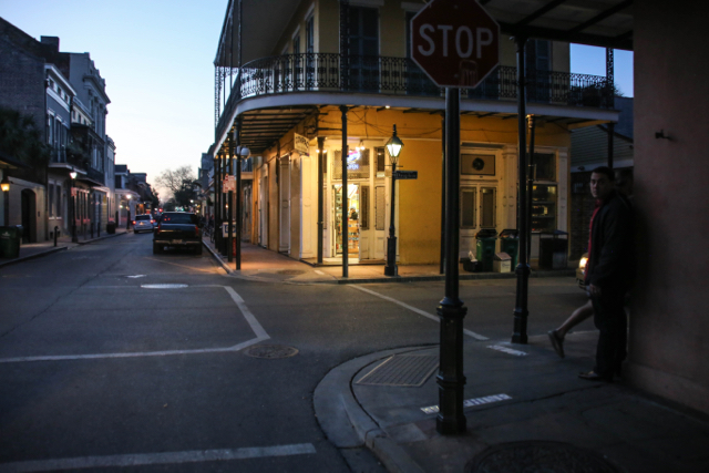 French Quarter Street Corner
