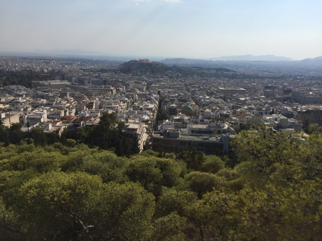 athens in a day hill views